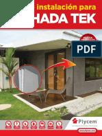 Manual Fachada Tek Web16 Feb 2016