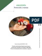 Cartilla Amazonia Protección y Manejo