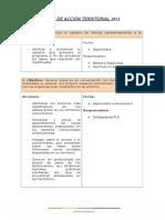 Plan de Acción Territorial 2013