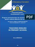 Teaching English in Primary School