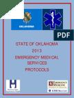 Field Edition 2013 State of Oklahoma Ems Protocols Version 2