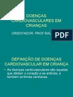 DOENÇAS CARDIOVASCULARES EM CRIANÇAS.ppt