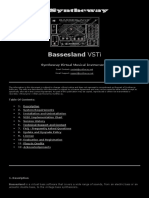 Bassesland Vsti: Syntheway Virtual Musical Instruments