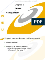 Pmbok HR Management