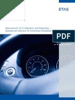 ECU Measurement Calibration and Diagnostics Brochure