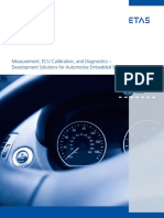 ECU Measurement Calibration and Diagnostics Brochure