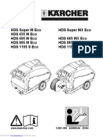 HDS Super M Echo Service manual