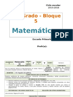 Plan 2do Grado - Bloque 5 Matemáticas.doc