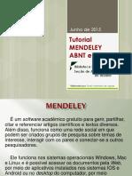 Tutorial Mendeley 2015 Abnt e Apa