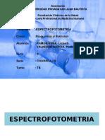 Espectrofotometria.