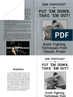 Martial Arts - Knife Fighting Manual