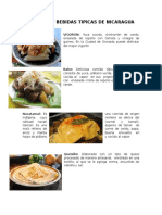 Comidas y Bebidas Tipicas de Nicaragua