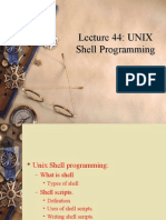 Lecture on Shell n Scripts
