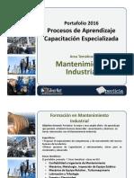 Portafolio SilverNet 2016 Mantenimiento Industrial
