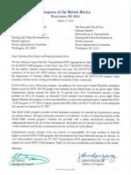 2016 HUD-VASH Appropriations Letter Request