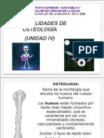 Osteología Generalidades