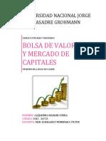Bolsa de Valores - Análisis práctico