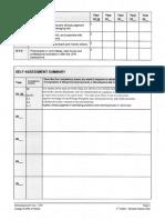 self assessment document