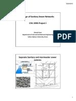 Design Sewer Network Handout