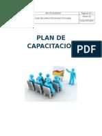 Plan Capacitacion 2015