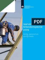 Jaarverslag Arbeidsinspectie 2009