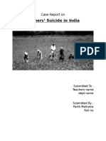 Case Report on Farmers Suicide