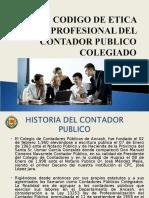 Exposicion - Codigo de Etica Del Contador Publico - Gabriel 2013