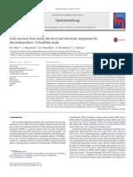 La Recuperación de Oro de Equipos Eléctricos y Electrónicos Usados Por Electrodeposición-Un Estudio de Viabilidad