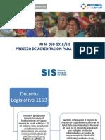Rj 059- 2015- Consulta de Base Sis