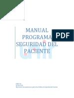 1.Programa Seguridad Del Paciente - Unir