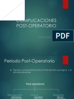 03. Complicaciones Post-operatorio