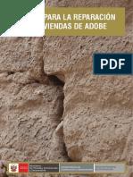 Fichas Para La Reparacion de Viviendas de Adobe