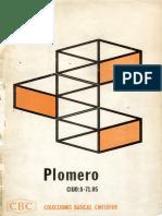 Colecciones Básicas Cinterfor (CBC) - Plomero