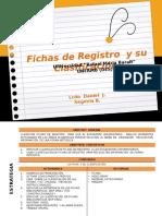 Ficha Registro y Su Clasificación