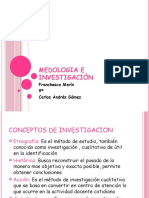 Medologia e Investigación Power point