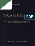 Algunas tragedias de Eurípides