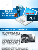 Crisis Económica en El Perú