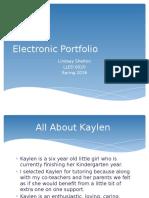 shelton electronic portfolio