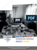 Analysis of Russia's Information Campaign against Ukraine