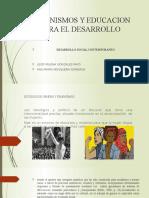 Feminismos y Educacion Para El Desarrollo
