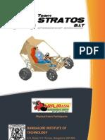 Team Stratos BAJA Sponsorship Brochure