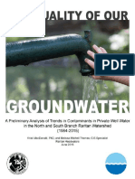 Trends in Groundwater Contaminants