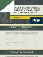 Análisis del desarrollo científico y tecnológico