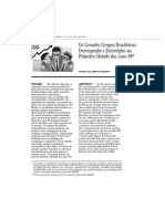 Tagore Villarim de Siqueira - Os Grandes Grupos Brasileiros Desempenho e Estratégias Na Primeira Metade Dos Anos 90 REVISTA BNDES