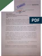 Documentos de denuncia contra Juan Carlos Eguren