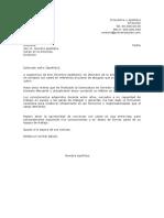Carta de Presentacion Referido