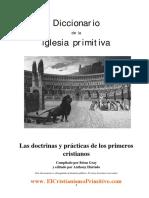 1. Diccionario de La Iglesia Primitiva