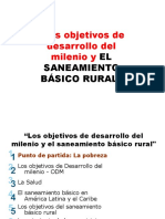 Saneamiento Basico Rural- Objetivos Del Milenio