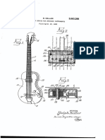 "U.S. Patent 2,683,388, entitled ""Pickup device for stringed instruments"" to Keller, issued 1954."