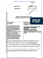 JONES v OBAMA -  PLAINTIFF'S OPPOSITION - Case 2:10-cv-01075-GAF-PJW - 05/11/10